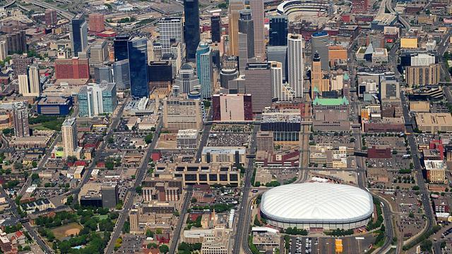 Une vue générale de Minneapolis [Karen Bleier / AFP/Archives]