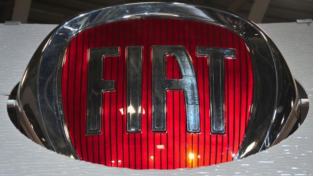 Le logo de Fiat [Karen Bleier / AFP/Archives]