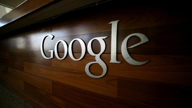 Le logo de Google au siège de l'entreprise en Californie [Kimihiro Hoshino / AFP/Archives]