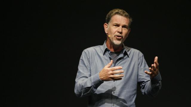 Le directeur général de Netflix, Reed Hastings, le 22 septembre 2011 à San Francisco [Kimihiro Hoshino / AFP/Archives]