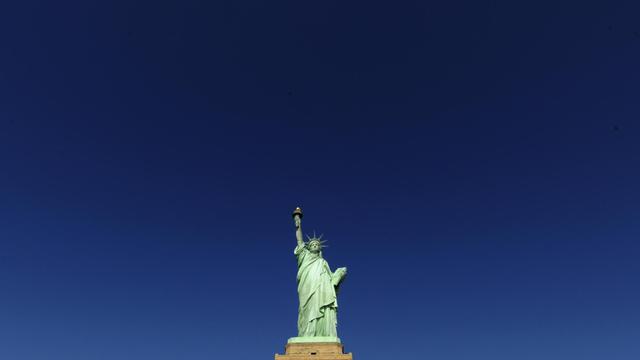 La statue de la Liberté à New York [Timothy A. Clary / AFP/Archives]