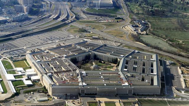 Vue aérienne du Pentagone, ministère américain de la Défense à Arlington (Virginie) [ / AFP/Archives]