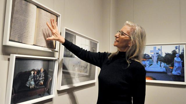 La photographe américaine Annie Leibovitz, le 24 janvier 2012 à Washington [Karen Bleier / AFP/Archives]