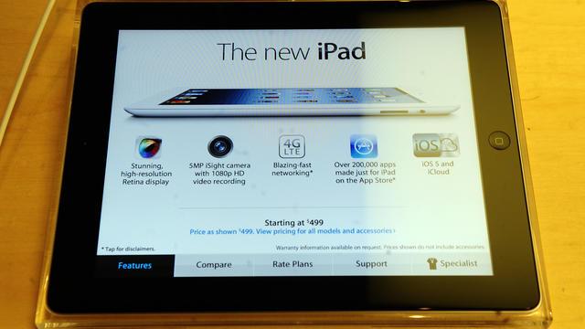 L' iPad d'Apple [Emmanuel Dunand / AFP/Archives]