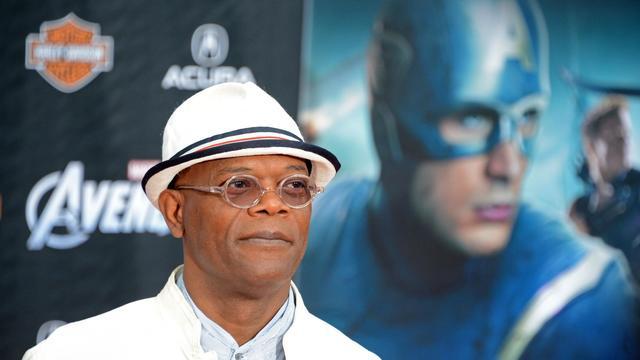 L'acteur Samuel L. Jackson, le 11 avril 2012 à Hollywood [Robyn Beck / AFP/Archives]