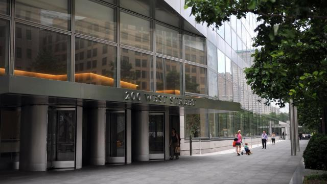 Le siège de Goldmann Sachs à New York [Stan Honda / AFP/Archives]