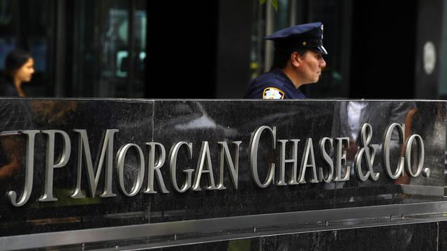 Le siège de JP Morgan Chase, à New York, le 13 juillet 2012 [Timothy A. Clary / AFP/Archives]