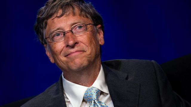 """Bill Gates, le cofondateur de Microsoft devenu milliardaire et philanthrope, est en quête des toilettes du futur, une nécessité """"pour la santé publique et la dignité humaine"""", car le manque d'accès aux sanitaires est """"un fardeau économique et de santé publique pour des communautés pauvres"""".[AFP]"""
