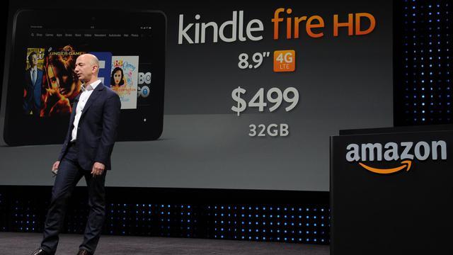 La nouvelle tablette Kindle Fire HD du distributeur en ligne Amazon, présentée jeudi soir aux Etats-Unis, sera vendue en France à partir du 25 octobre et distribuée notamment chez Auchan et Darty, a annoncé à l'AFP Xavier Garambois, vice-président du groupe pour l'Europe du sud. [AFP]