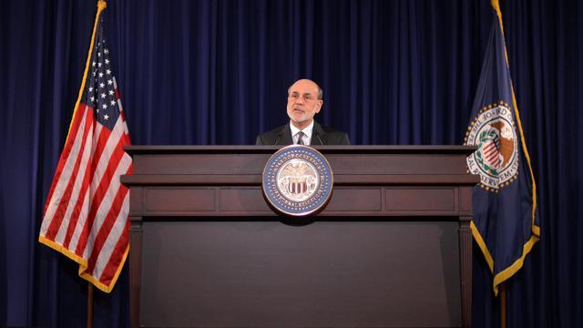 Le président de la Réserve fédérale américaine, Ben Bernanke, le 13 septembre 2012 à Washington [Jewel Samad / AFP]