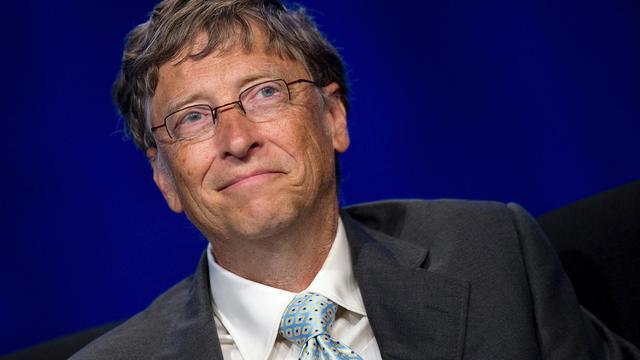 Bill Gates lors d'une conférence sur le Sida, le 23 juillet 2012 à Washington [Jim Watson / AFP/Archives]