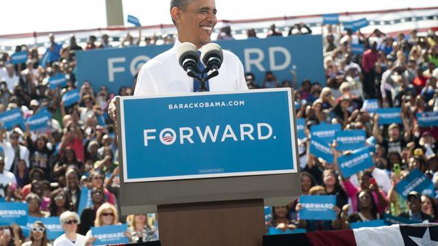Le président américain Barack Obama, le 21 septembre 2012 à Woodbridge, en Virginie [Saul Loeb / AFP]