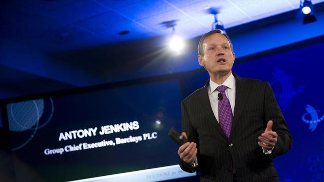 Le patron de la banque britannique Barclays Antony Jenkins à New York, le 23 septembre 2012 [Stephen Chernin / AFP/Archives]