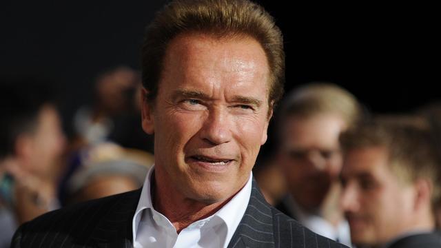 Arnold Schwarzenegger, le 15 août 2012 à Hollywood. [Robyn Beck / AFP]