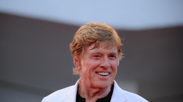 L'acteur américain Robert Redford le 6 septembre 2012 au Festival de Venise [Tiziana Fabi / AFP/Archives]