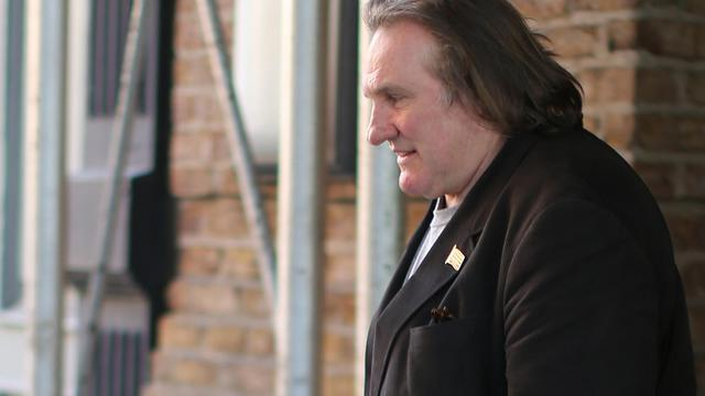 L'acteur Gérard Depardieu à New York le 5 avril 2013 [Mehdi Taamallah / AFP/Archives]
