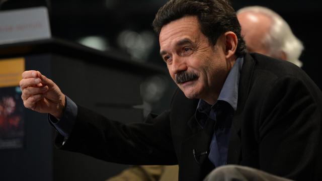 Edwy Plenel, patron et fondateur du site d'information Mediapart, le 12 avril 2013 à New York [Stan Honda / AFP/Archives]
