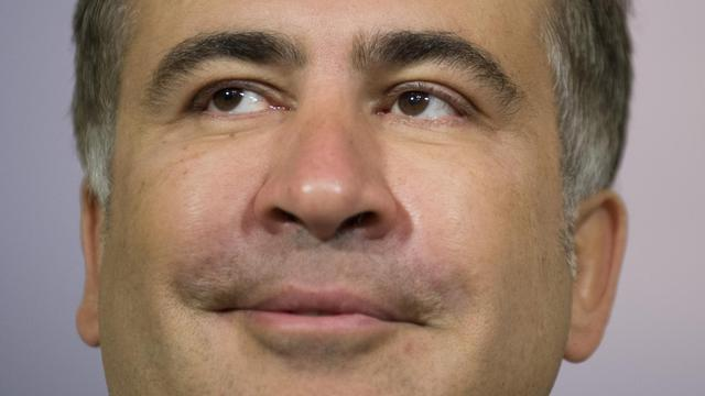 Le président géorgien Mikheïl Saakachvili à Washington le 1er mai 2013 [Jim Watson / AFP/Archives]