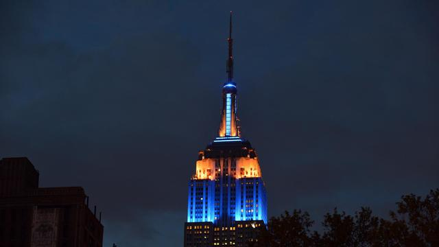 Le gratte-ciel new-yorkais Empire State Building le 10 mai 2013 [Stan Honda / AFP/Archives]