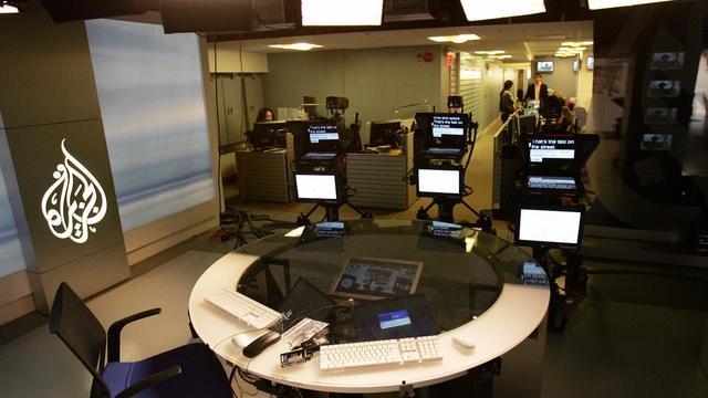 Les studios de la chaîne Al-Jazeera à Washington DC. [Tim Sloan / AFP/Archives]