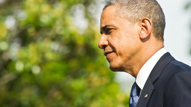 Barack Obama, le 19 mai 2013 à Washington [Nicholas Kamm / AFP]