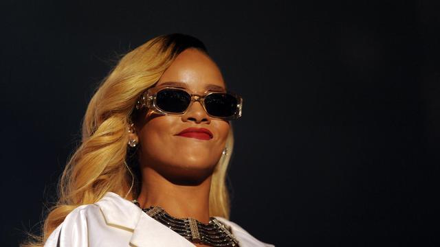 La chanteuse de R'n'B Rihanna, le 24 mai 2013 à Rabat au Maroc [Fadel Senna / AFP/Archives]