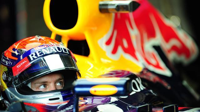 Sebastian Vettel (Red Bull) pendant les essais qualificatifs du Grand Prix du Canada de F1 le 8 juin 2013 à Paris [Emmanuel Dunand / AFP]