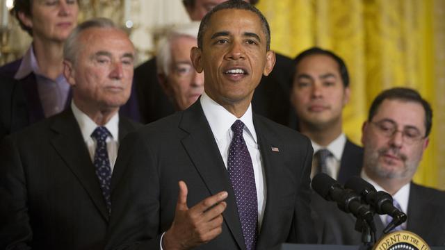 Barack Obama à la Maison Blanche, le 11 juin 2013 à Washington DC [Jim Watson / AFP]