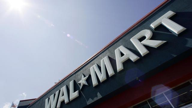 Façade d'un magasin Walmart, aux Etats-Unis [Robert Sullivan / AFP/Archives]