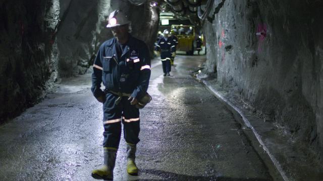 Dans une mine [David Boily / AFP/Archives]