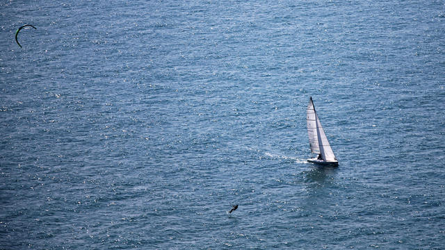 C'est la première fois qu'un non-voyant réalise une traversée de l'océan Pacifique.