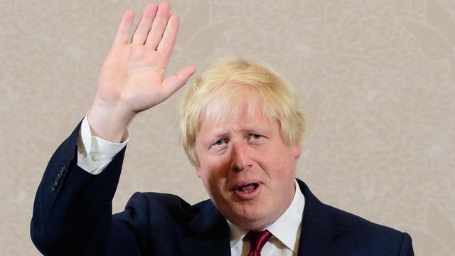Boris Johnson, lors de l'annonce de son retrait de la course à la tête des Tories, le 30 juin 2016, après la trahison de son lieutenant, Michael Gove.