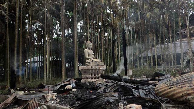 Temples incendiés