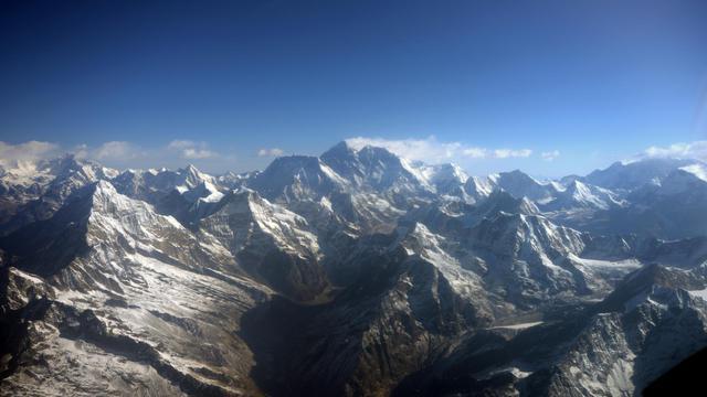 Une vue de l'Everest [Prakash Mathema / AFP/Archives]