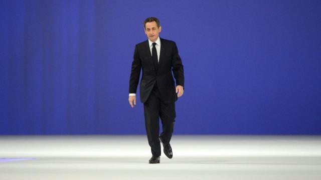 Meeting de Sarkozy à Villepinte