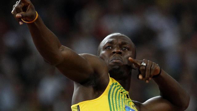 Usain Bolt a touché 60 000 dollars grâce à son sacre sur le 100m des championnats du monde d'athlétisme à Pékin.