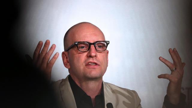 Le réalisateur américain Steven Soderbergh le 21 mai 2013 à Cannes.