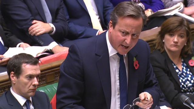David Cameron a annoncé aux députés que les filtres anti-porno seraient maintenus.