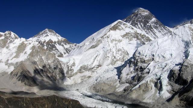 Les glaciers de l'Himalaya en danger.