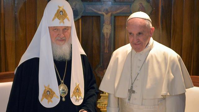 7c70a0020f7863 Le Vatican essayait d organiser cette rencontre depuis des décennies.   ADALBERTO ROQUE   POOL   AFP