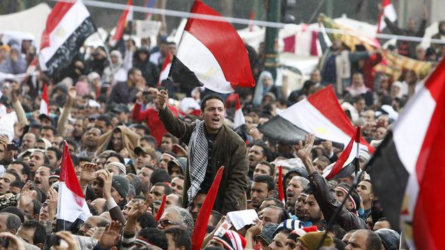 En 2011, la population égyptienne s'est soulevée contre Hosni Moubarak