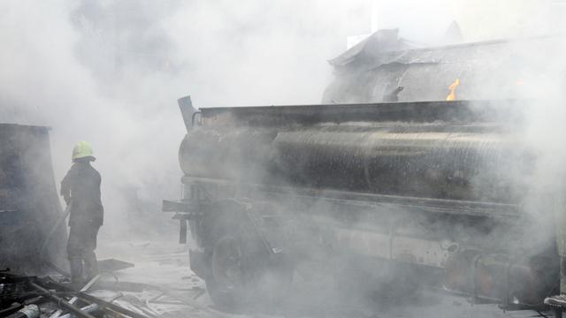 Explosion à Damas