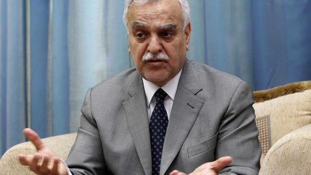 Le vice-président Tarek al-Hachémi le 25 décembre 2011.
