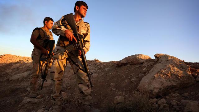 Des Peshmergas, ces combattants kurdes.