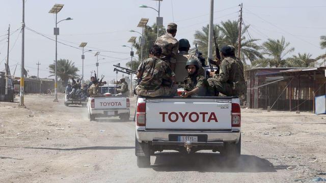 Des soldats à Bagdad.