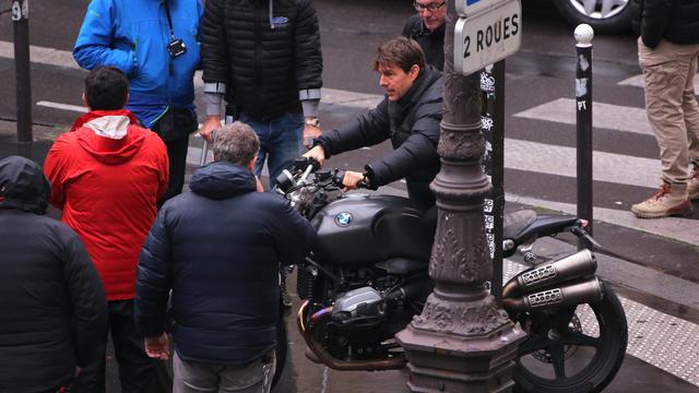 L'acteur américain Tom Cruise avait passé plus d'un mois à Paris, dans le cadre du tournage de «Mission Impossible 6».