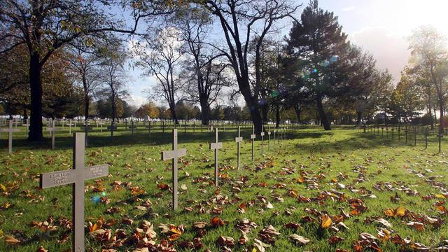 Le cimetière allemande de Neuville-Saint-Vaast.