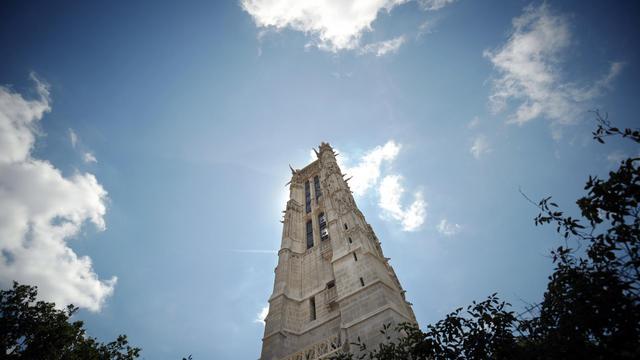La Tour Saint-Jacques à Paris le 12 septembre 2012.