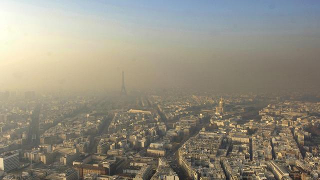 Paris a connu un épisode de pollution élevé au mois de mars 2015.