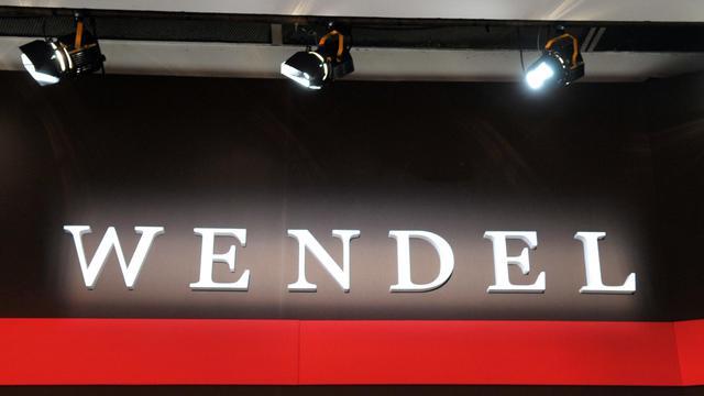 Le logo du groupe d'investissement Wendel.